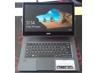 Acer Aspire R13 Laptop which can become Tablet as well as it has a 360 Degree Ezel Hinge.
