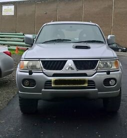 Mitsubishi Shogun Sport Trojan For Sale, Very Good Condition