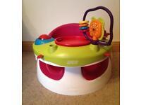 Mama's & Papa's Baby Snug Seat With Play Tray