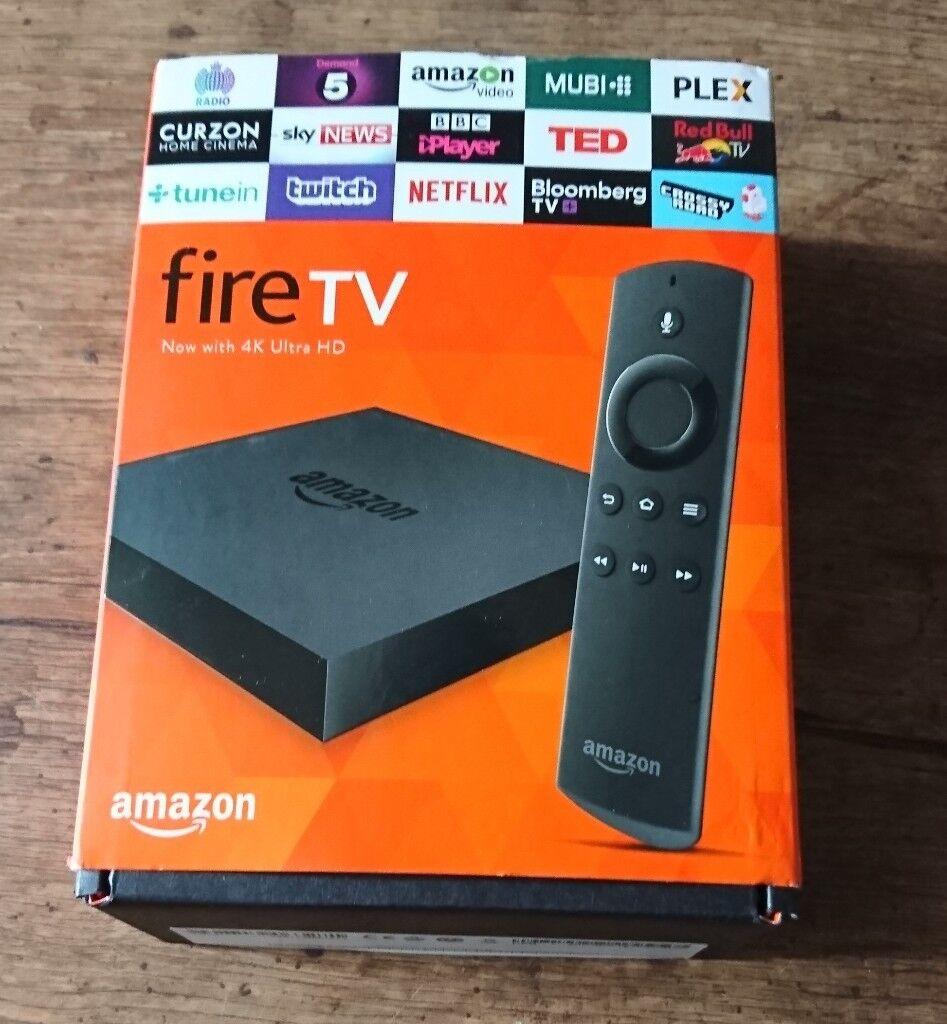 Amazon Fire TV (2nd generation) with latest kodi version 17 6 (not fire  stick/firestick) | in Heath, Cardiff | Gumtree