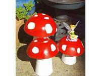 Fairytale toadstools