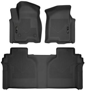 2019-2020 Chevy Silverado & GMC Sierra Crew Cab Husky Liner Floor Liners | Free Shipping at motorwise.ca
