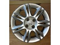 vauxhall corsa alloy wheel genuine original