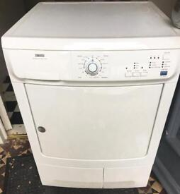 Zanussi 7KG condenser dryer free delivery