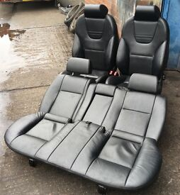 *** RECARO BLACK LEATHER INTERIOR WITH ARM REST (FORD MONDEO MK3) *** SEATS ST TRANSIT CONNECT