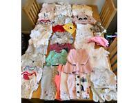 Large girls bundle 0-3 Months (51 items)