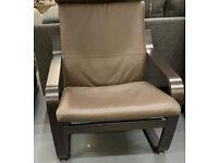 POÄNG, armchair, black-brown, Glose dark brown, WAS £165 IKEA Warrington, #bargaincorner