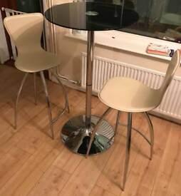 Breakfast Bar table & chairs