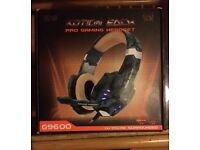 Gaming headset ps4