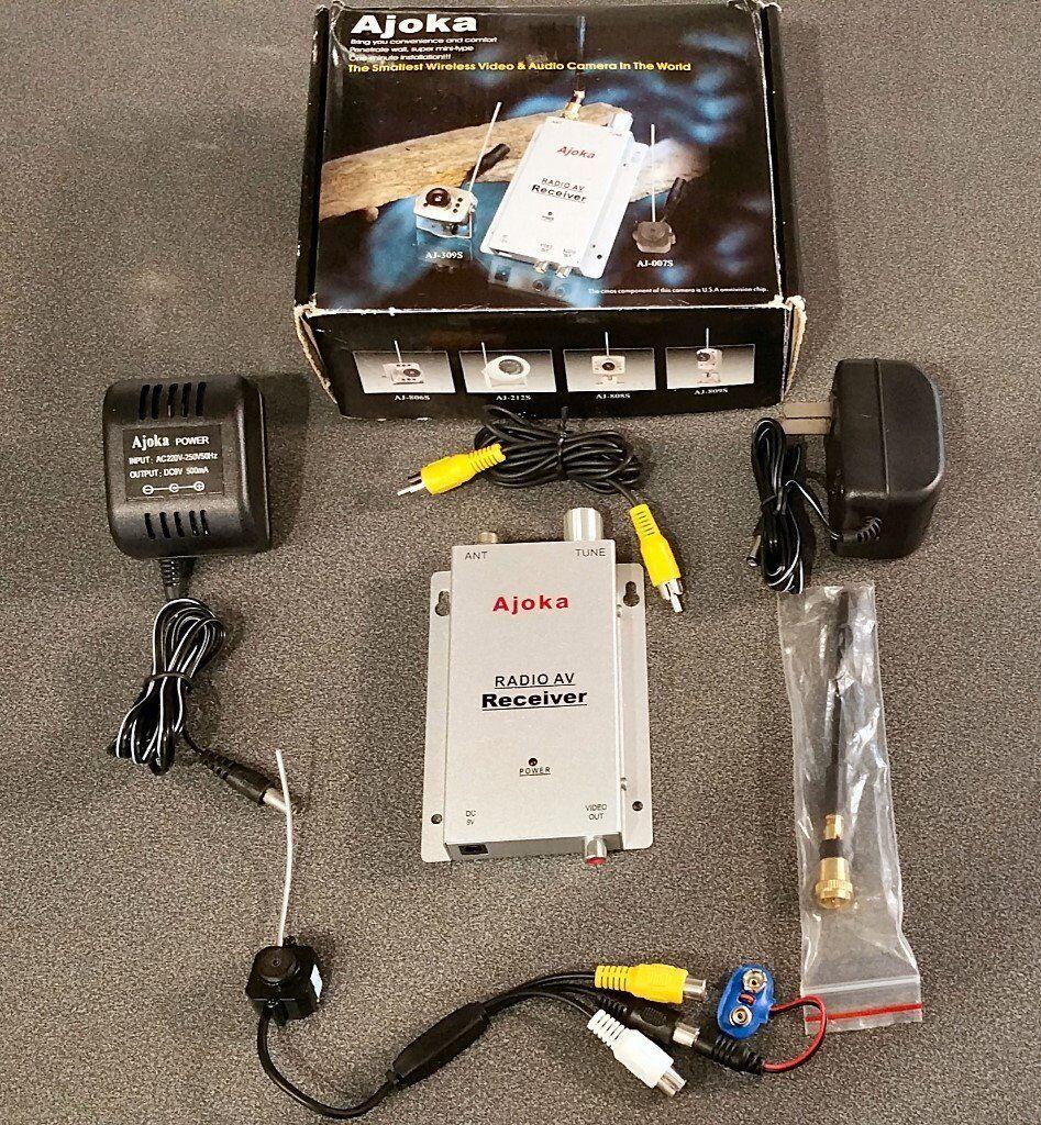 Wireless CCTV Home Surveillance 900MHz ~ 1200Mhz System Kit - Video Tx Camera & Rx