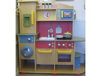 LITTLE TIKES Kids Play Kitchen Toy Large Deluxe Wooden Childs Girls Playroom High Quality RRP £250
