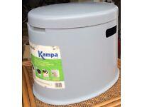 Kampa Khasi, camping toilet.