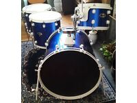 Ddrum Diablo Shell Pack (drums plus tom holder and legs) for sale