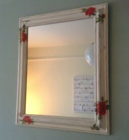 Shabby Chic Solid Pine Mirror