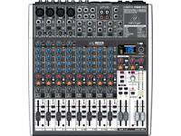 behringer 12 channel mixer x1622 USB