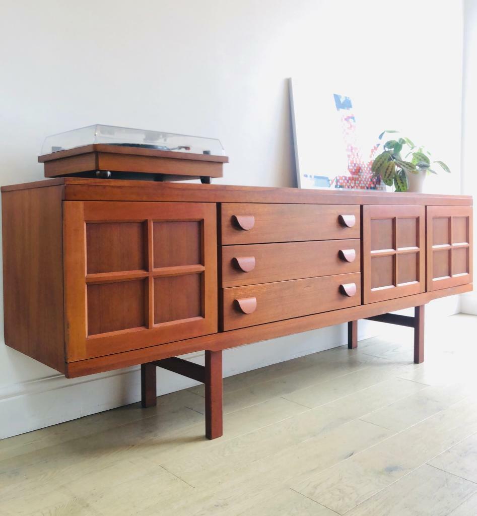 Mid Century Vintage Retro Teak Sideboard Cabinet In Hampton London Gumtree