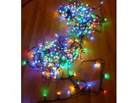360 multi string lights and rope light