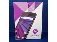 Boxed Motorola Moto G 3rd Generation Unlocked Smartphone Mobile Phone