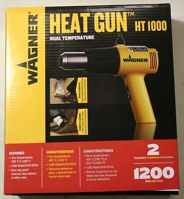 Wagner Ht-1000 Dual-temp Heat Gun Paint Remover -