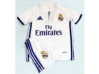 Real Madrid 2016 2017 child kit child football shirt set