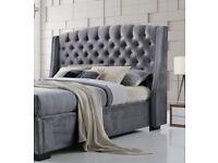 Velvet brando bed