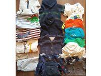 Large Baby boys bundle 3-6 months inc Next, Jojo Mama bebe, F&F, Gap, Mini Club