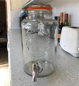 Kilner 5L water dispenser