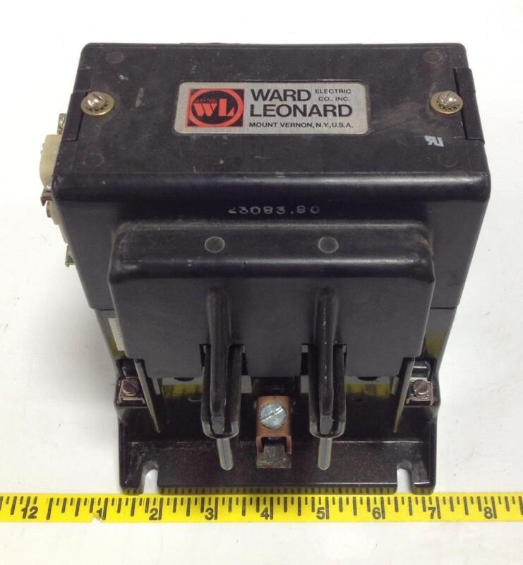 WARD LEONARD 110A 240VDC DEFINITE PURPOSE CONTACTOR 5DP3-10130