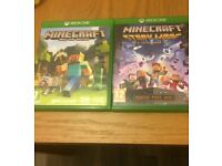 Xbox One Minecraft Games Xbox One Edition And Minecraft Story Mode