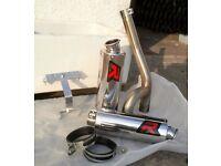 FZ6 - YAMAHA - SPORT Exhaust Pipes