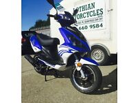 Special Offer Nipponia Dion 125cc Learner Legal Scooter 2 Yr Parts & Labour Warranty