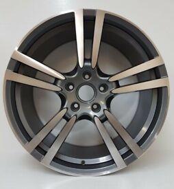 "997 Carrera 9J 11J x4 20"" Porsche Turbo Style Alloy Wheels 5x130 GM Polished"