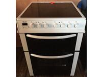 Refurbished bush ae66dcw electric cooker-3 months guarantee!