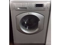 Hotpoint WMD940 8kg 1400 Spin Silver LCD Silent Washing Machine 1 YEAR GUARANTEE FREE DEL N FIT