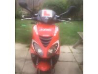Piaggio NRG 50cc, no log book, 1 key, full logbook, sold as seen