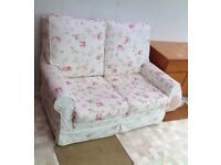 Floral 2 Seater Sofa, Quality Covers