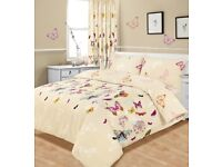 Butterfly Duvet Cover with Pillowcases – King Size