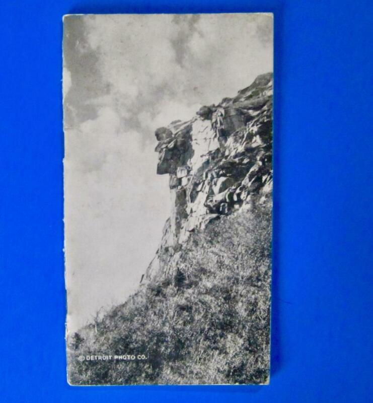 Old Man of the Mountain The Flume 1857-1923 History Booklet New Hampshire