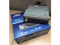 JVC Car CD Player KD-G321 MP3 WMA CD-R CD-RW Radio detachable face 50Wx4 Boxed