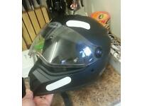 Bell mx9 crash helmet