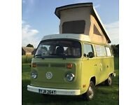 Volkswagen VW Campervan Bay Window T2 Westfalia Left Hand Drive USA Import Retro Motorhome MOT MAY19