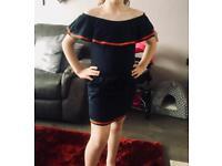 Girls Cold Shoulder Dress