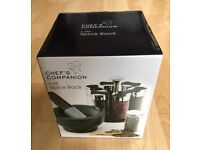 Chef's Companion 6 Jar Spice Rack - collection from Balham