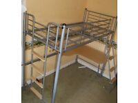 Single High Sleeper Bed Frame