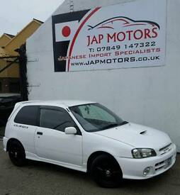Toyota starlet Glanza V 3DR 5 Seater Facelift 1998