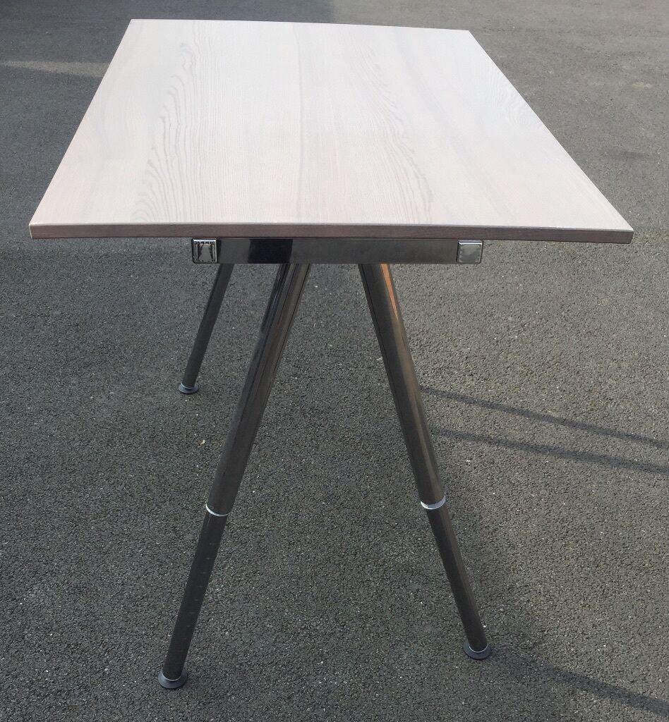 ikea thyge desk adjustable height great condition in bingham nottinghamshire gumtree. Black Bedroom Furniture Sets. Home Design Ideas