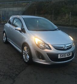 2015 Vauxhall Corsa 1.4 SRI Low Mileage