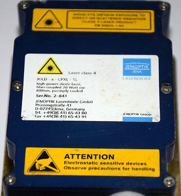 Jold-x-cpxf-1l Jenoptik 20 Watts Cw 808nm.laserdiode Laser