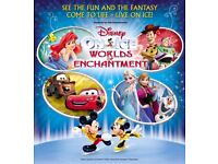 4 Disney on ice tickets Aberdeen 5th May 2018 2:30pm