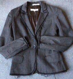 Rare ALL SAINTS Womens Trouser Suit Jacket Blazer Trousers S/XS
